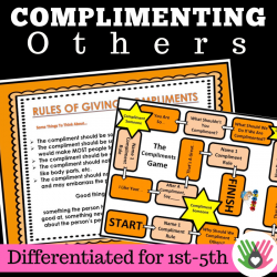Complimenting Others || Social Skills Activity